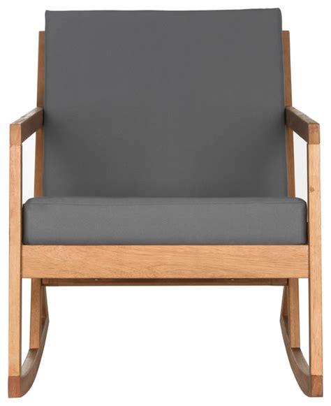 Modern Outdoor Rocking Chair by Safavieh Vernon Rocking Chair Yellow
