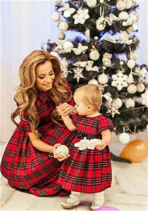 mother dresses son as daughter at bigcloset plaid mother daughter matching dress tartan mom daughter