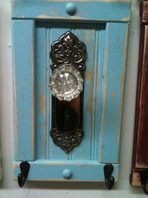 antique door knob coat rack towel or even jewelry