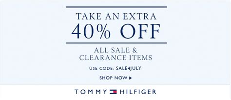 Hilfiger Outlet Coupons Printable 2015