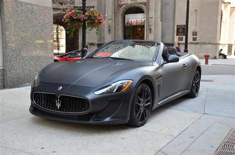 maserati bentley 2013 maserati granturismo mc convertible sport used