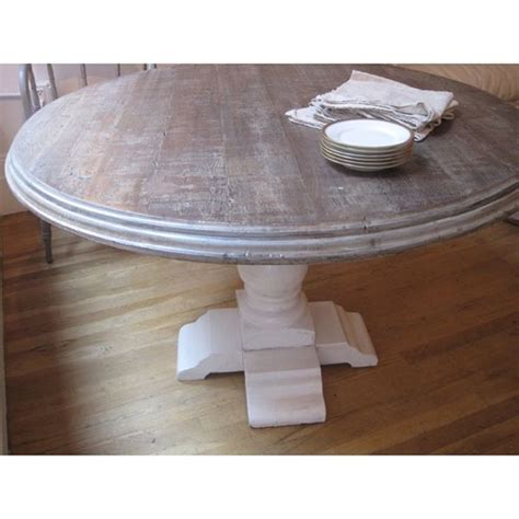 liliput round dining table shabby chic pinterest