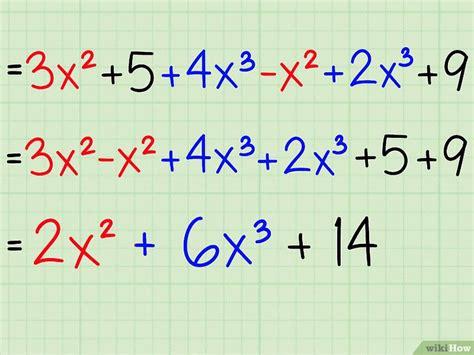 comment simplifier une expression algebrique wikihow
