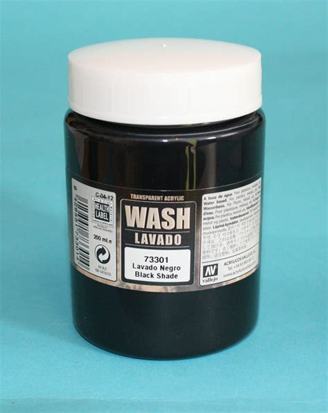 vallejo color wash vallejo black wash 200ml wargamestore