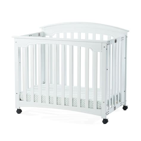 Mini Crib Mattress Child Craft Stanford Mini Folding Crib With Mattress Reviews Wayfair