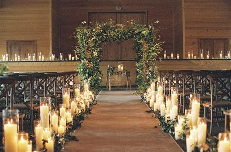 34 Beautiful Nature Winter Wedding Decoration Ideas   VIs Wed