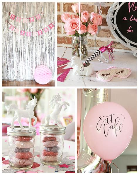 rainbows and sparkles birthday party ideas birthdays kara s party ideas sparkle like a unicorn themed birthday
