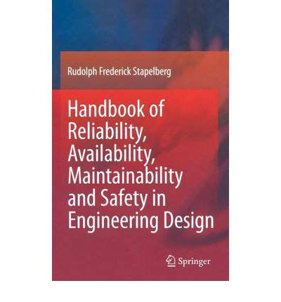 design management a handbook of issues and methods handbook of reliability availability maintainability and