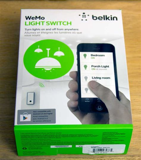 belkin wemo light switch belkin wemo light switch review a smart and simple solution