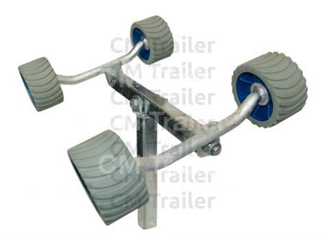 boat trailer wobble roller kit wobble roller sets cm trailer parts new zealand