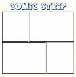 comic template printable sle comic template 10 documents in pdf psd