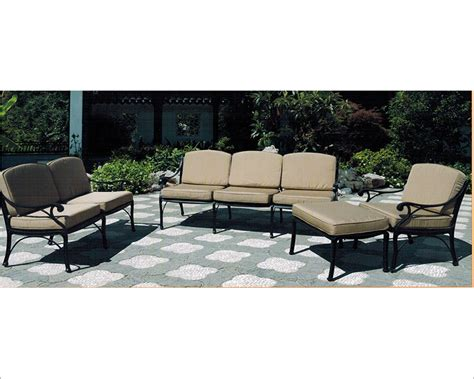 patio sofa set miramar by designs su 4706 set