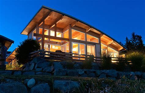 Photos 1 19m Modern Sechelt Waterfront Home Waterfront House Plans In Beautiful Columbia