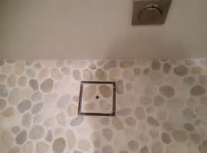 Installing Shower Tile Pebble Tile For Shower Floor Any Install Recommendations Tiling Contractor Talk