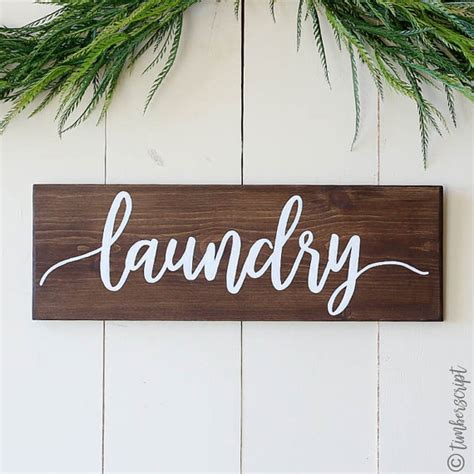 Laundry Room Sign Laundry Wall Decor Rustic Home Decor Laundry Room Signs Wall Decor