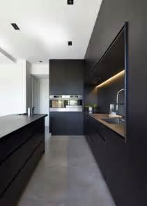 Black Modern Kitchen Cabinets Best 25 Black Kitchens Ideas On Kitchens Stainless Steel Kitchen Inspiration