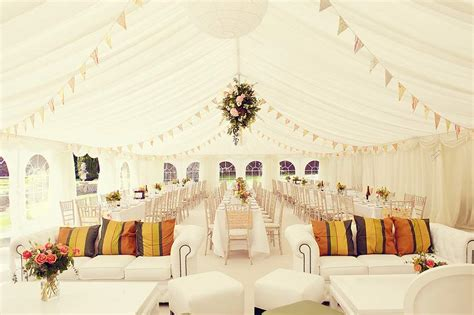 vintage wedding marquee ideas wedding marquee in shabby chic style with bunting case