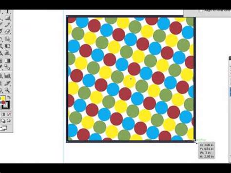 edit pattern swatches in illustrator cs5 adobe illustrator cs5 pattern swatches part 1 youtube