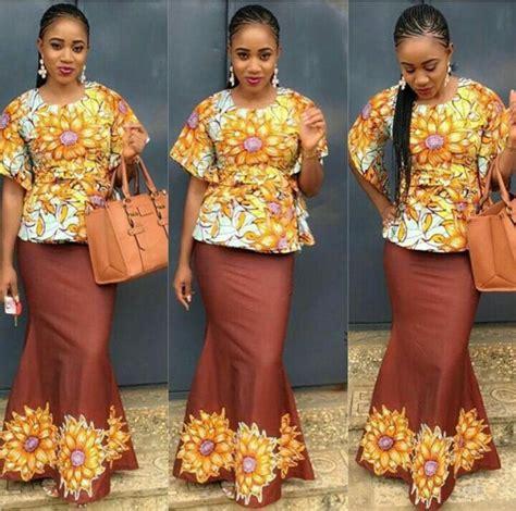 plain and pattern daviva styles naij com plain and pattern ankara styles for ladies