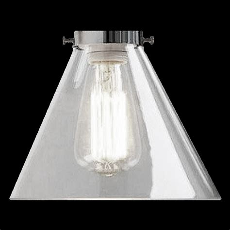 Clear Glass Chandelier Shades 6517 Clear Glass Cone Shade Glass Lshades