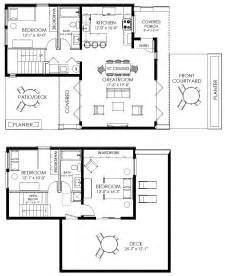 Home Blueprints by Small House Plan Small Contemporary House Plan Modern
