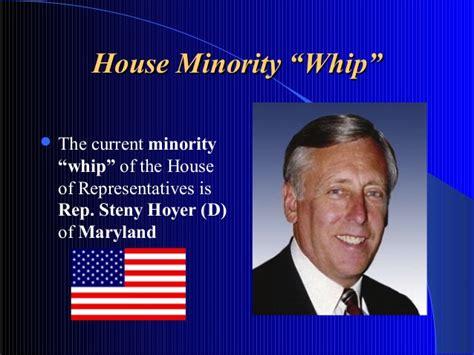minority whip of the house legislative branch slideshare 8