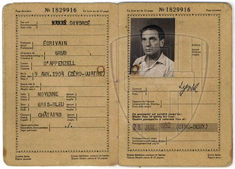 Lebenslauf Deutscher Pass ludwig hohl nachlassinventar