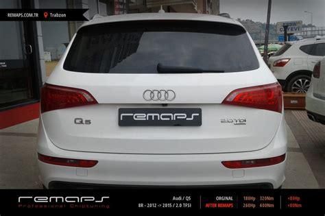 Audi Q5 Chiptuning by Audi Q5 8r 2012 Gt 2015 2 0 Tfsi Chip Tuning Performans