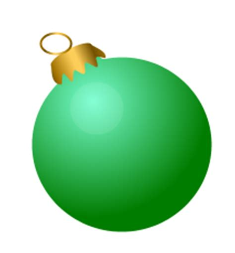green bauble free baubles clip