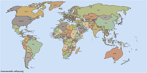 Picture Of World Map by File Political World Map Jpg