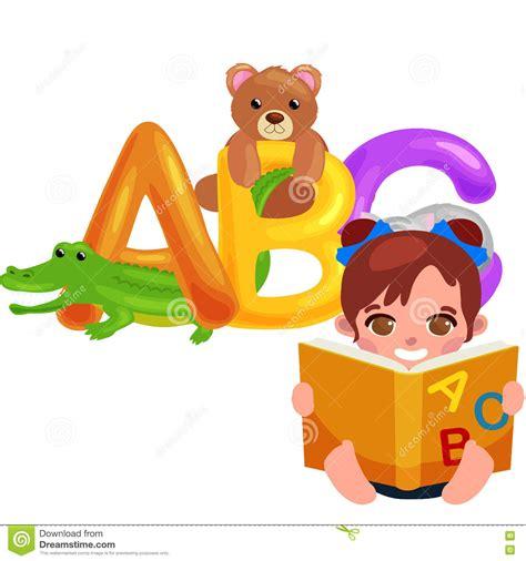 amiguito de la escuela en letra letras animales del abc para la educaci 243 n del alfabeto de