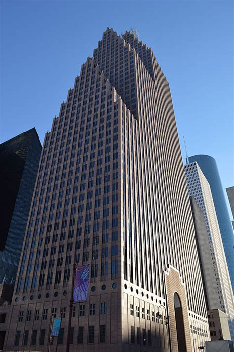 Bank Of America Center Parking Garage by Houston From Balconies And Parking Garages And A Few From