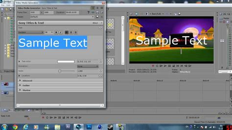 effect 11 wave text sony vegas tutorial youtube sony vegas pro 11 tutorials 1 glow text like ae very