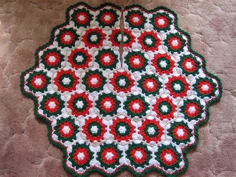 christmas tree skirt crochet pattern 2017 2018 best
