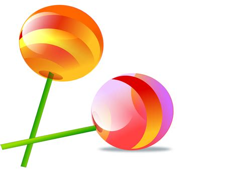 vector lollipop tutorial two lollipops vector clipart image free stock photo