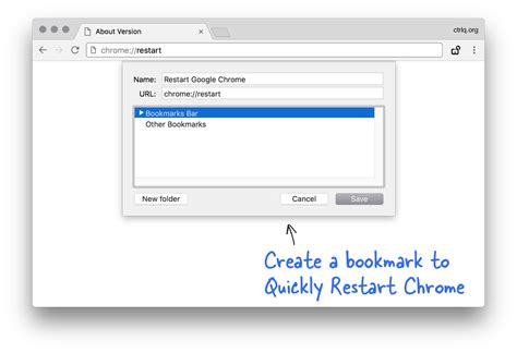 chrome open by itself chrome restart bookmark how to quickly restart your