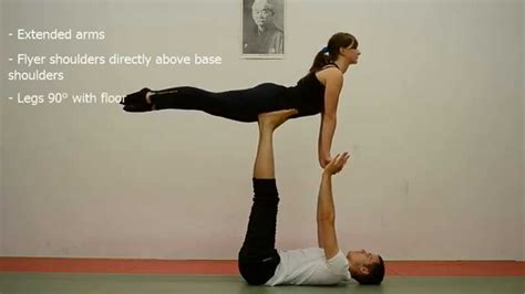 Acro Yoga Tutorial Beginner | acroyoga beginner tutorial 1 front bird free bird and