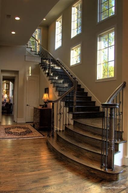 Staircase Ideas For Homes Staircase Ideas Traditional Staircase Dallas By Veranda Homes