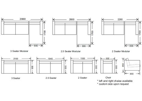 Average Sofa Dimensions Standard Furniture Dimensions