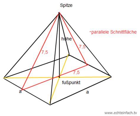 Beschriftung Pyramide by Beschriftung Einer Quadratischen Pyramide Mathelounge
