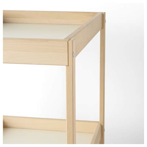 ikea baby changing table sniglar changing table beech white 72x53 cm ikea