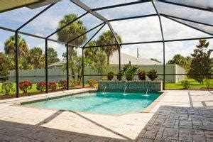 What Is The Average Cost Of Kitchen Cabinets 2017 swimming pool enclosure costs pool cage costs
