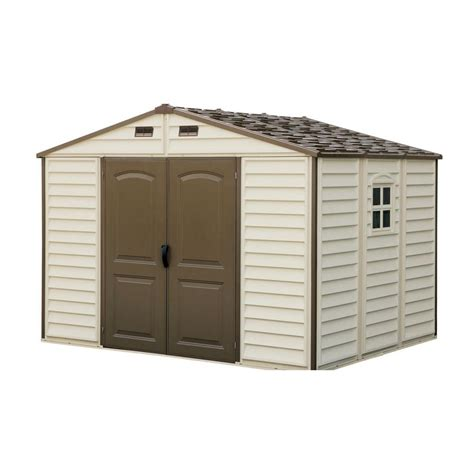 Duramax Building Products Storage Shed by Plastic Duramax Building Products Windows Woodside 10 Ft