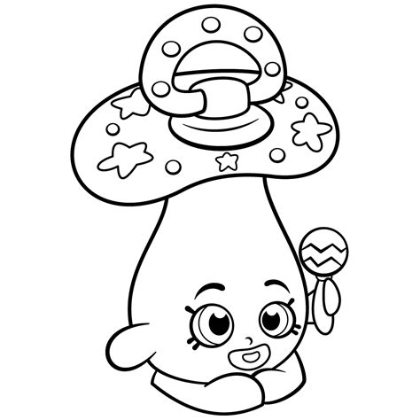 Coloring Pages Of Baby Shopkins | baby peacekeepr coloring page shopkins coloring pages