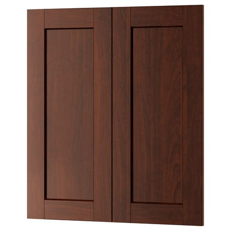 contemporary cabinet doors good brown square modern wood ikea cabinet doors stained