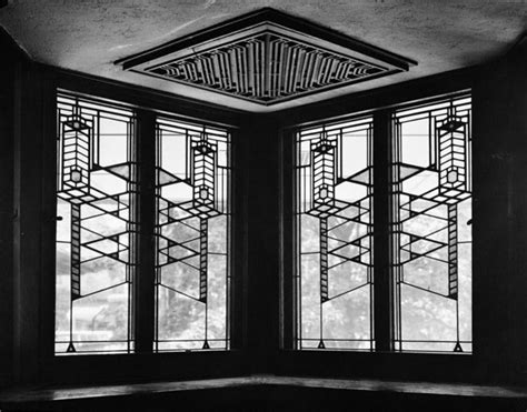 robie house windows the history of environmental design arts and crafts