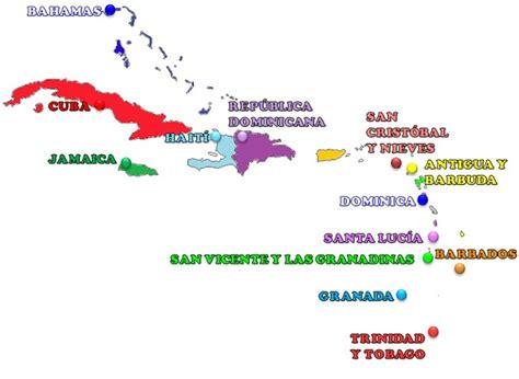 mapa america central y antillas 191 cu 225 l es el pa 237 s insular m 225 s grande de am 233 rica saber es
