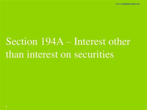 section 194a practical issues in tax deduction at source uploaded by