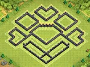 Clash of clans best town hall 9 trophy base epic town hall 9 war base