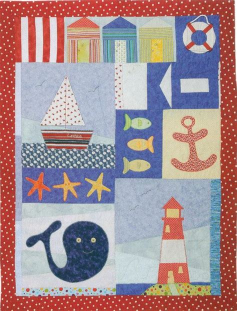 Nautical Patchwork Fabric - 2318 best images about templates and applique on